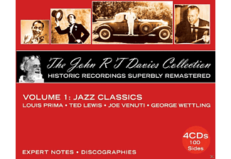 John R.T. Davies, Louis Prima, Ted Lewis, Joe Venuti, George Wettling - The John R.T. Davies Collection - (CD)