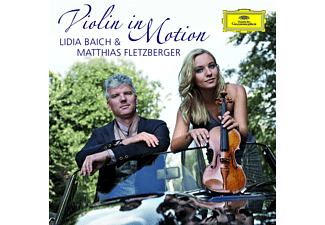 Lidia Baich, Matthias Fletzberger - Violin In Motion - (CD + DVD Video)