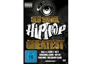 VARIOUS - Old Skool Hip Hop - Greatest - (DVD)