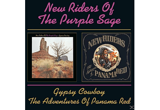 New Riders Of The Purple, New Riders Of The Purple Sage - Gypsy Cowboy/The Adventure Of Panama Red - (CD)