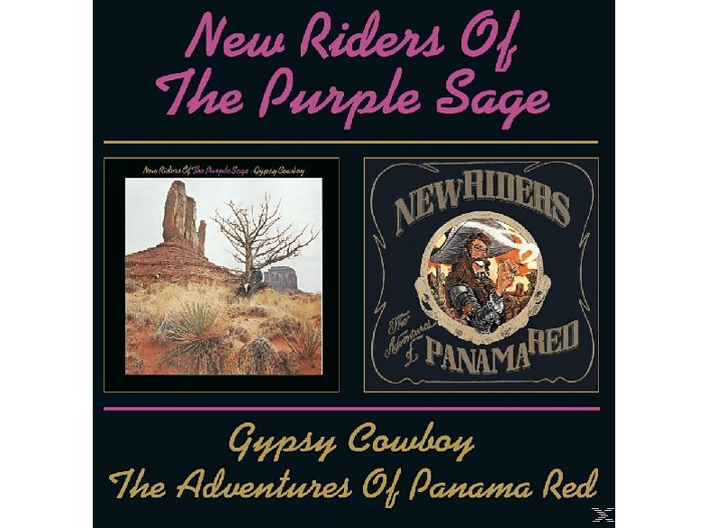 New Riders Of The Purple, New Riders Of The Purple Sage - Gypsy Cowboy/The Adventure Of Panama Red [CD]