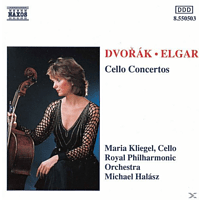 Maria Kliegel, Kliegel/Halasz/Royal Phil.Or. - Cellokonzerte [CD]