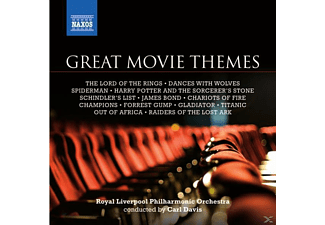 VARIOUS, Carl/royal Liverpool Po Davis - Grosse Filmthemen - (CD)