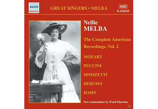 Nellie Melba - Complete American Recordings 2 - (CD)
