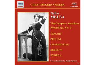 Nellie Melba - Complete American Recordings 3 - (CD)