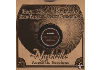 Raul Malo, Pat Flynn, Rob Ickes, Dave Pomeroy - Nashville Acoustic Sessions, The - (CD)