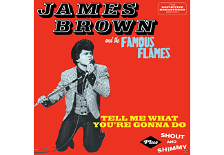 James & The Famous Flam Brown - Tell Me What You'r Gonna Do-Shout And Shimmy - (CD)