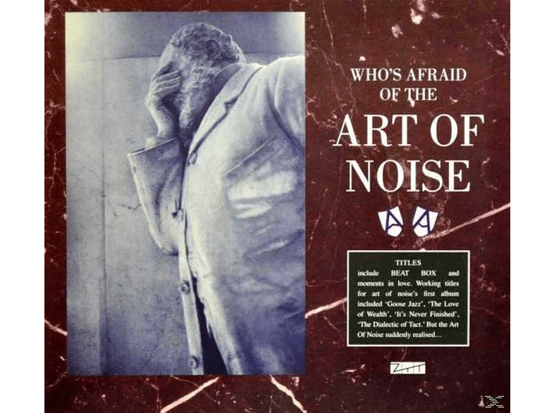 The Art of Noise - Who's Afraid Of The Art Of Noise [CD + DVD Video]