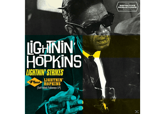 Lightnin' Hopkins - Lightnin' Strikes+Lightinin' - (CD)