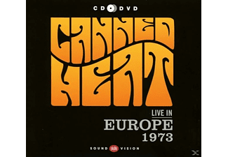 Canned Heat - Live In Europe 1973 (CD+DVD) - (CD)