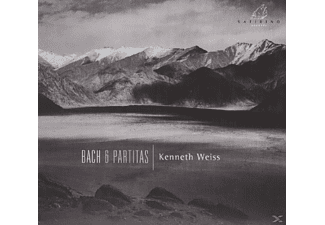 Kenneth Weiss - 6 Partitas BWV 825-8 - (CD)