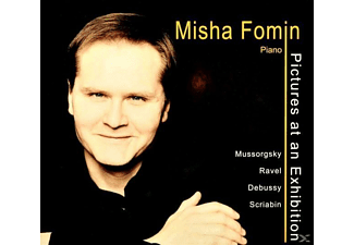 Misha Fomin - Pictures At An Exhibition - (CD)