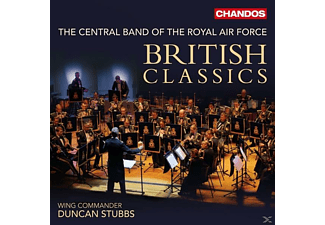 Duncan Stubbs, Jonathan Hill, The Central Band Of The Royal Air Force - British Classics-Werke Für Blasorchester - (CD)