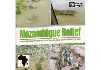 J Mucavele, VARIOUS - Mozambique Relief - (CD)