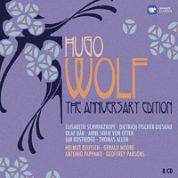 VARIOUS - Hugo Wolf - The Anniversary Edition [CD + CD-ROM]