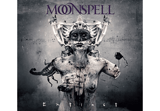 Moonspell - Extinct - Limited Digipak (CD + DVD)