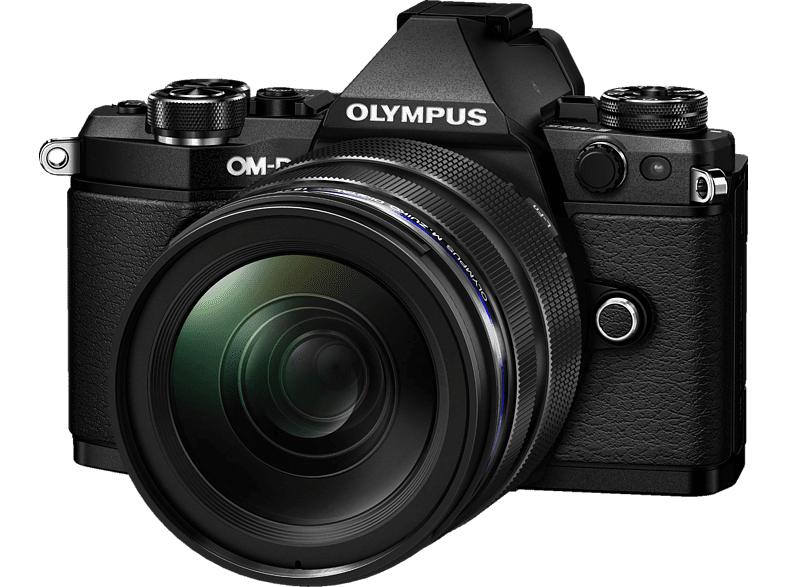 OLYMPUS OM-D E-M5 Mark II Systemkamera 16.1 Megapixel mit Objektiv 12-40 mm , 7.6 cm Display   Touchscreen, WLAN