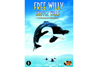 Sauvez Willy 1-4 Collection DVD