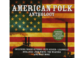 VARIOUS - American Folk Anthology - (CD)