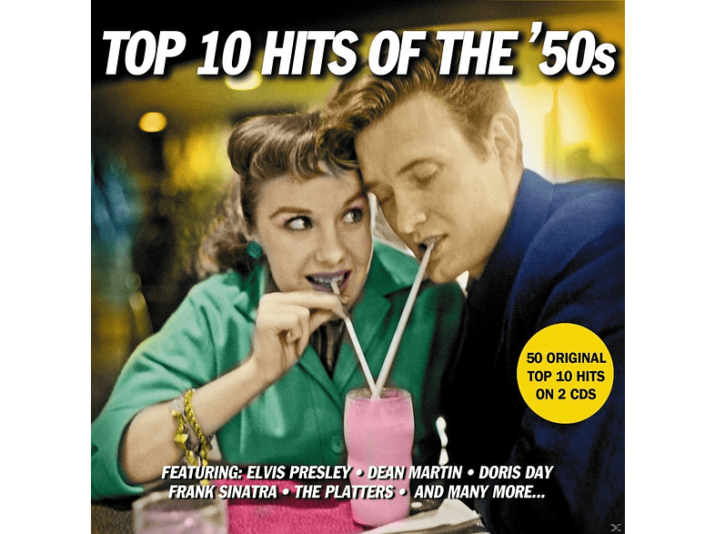 VARIOUS - Top 10 Hits Of The 50s [CD]