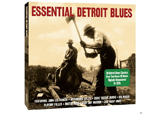 VARIOUS - Essential Detroit Blues - (CD)