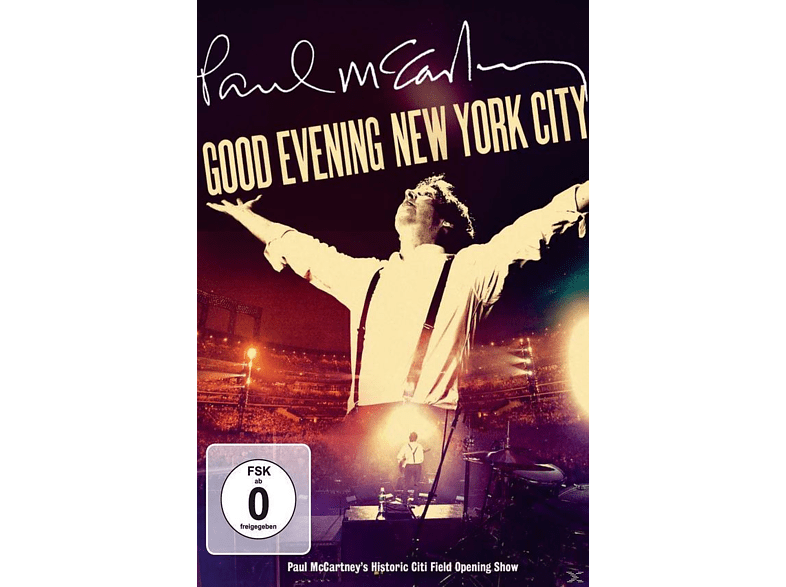 Paul McCartney - Good Evening New York City (Ltd.Deluxe Edition) [CD + DVD Video]
