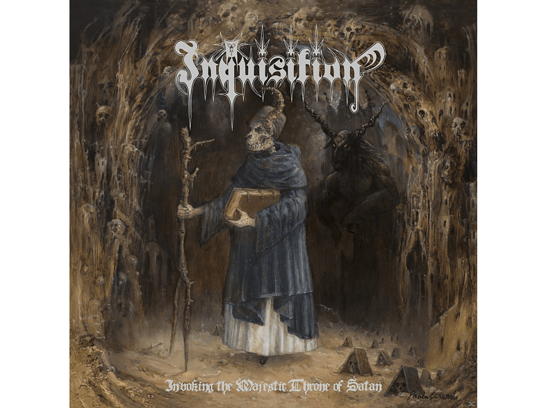 Inquisition - Invoking The Majestic Throne Of Satan (Re-Release) [CD]