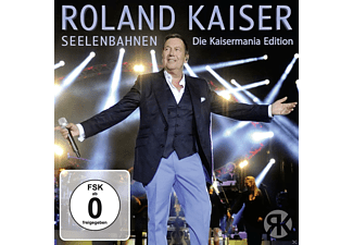 Roland Kaiser - Seelenbahnen-Die Kaisermania Edition - (CD + DVD Video)