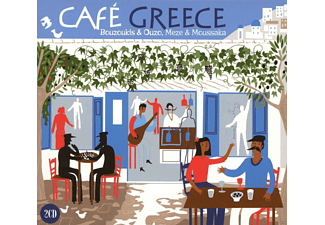 VARIOUS - Cafe Greece - (CD)