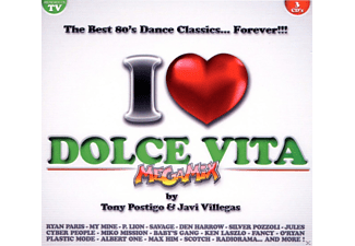 VARIOUS - I Love Dolce Vita Best 80 Dance Classics - (CD)