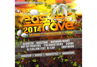 VARIOUS - Easter Rave 2014 - (CD)