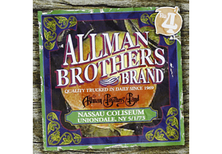 The Allman Brothers Band - Nassau Coliseum, NY 5/1/73 - (CD)