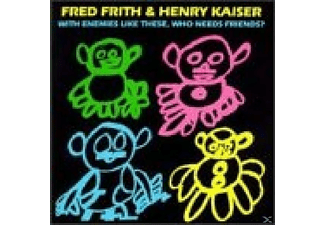 Frith Fred - With Enemies Like These - (CD)