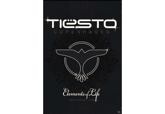 DJ Tiësto - Copenhagen: Elements Of Life - World Tour [DVD]
