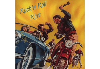 Various - Rock & Roll Riot (Gangwar) - (CD)