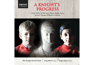 Greg Morris, Temple Church Choir - A Knight's Progress-Chorwerke - (CD)