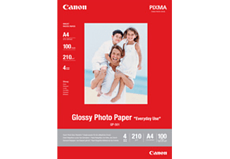 Canon Everyday Use Glossy Gp-501 - Papier photo (Blanc)