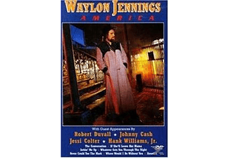 Robert Duvall, Jessi Colter, Johnny Cash, Hank Williams Jr., Waylon Jennings - Waylon Jennings - America - (DVD)