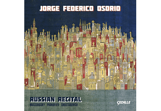 Jorge Federico Osorio, VARIOUS - Russian Recital [CD]