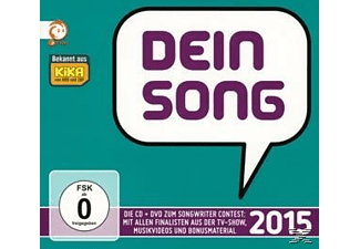 Various - Dein Song 2015 - (CD + DVD Video)