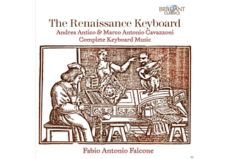 Fabio Antonio Falcone - The Renaissance Keyboard [CD]