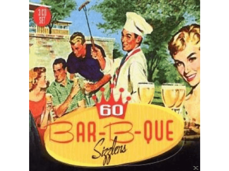 VARIOUS - 60 Bar-B-Que Sizzlers [CD]
