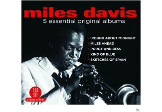 Miles Davis - 5 Essential Original Albums - (CD)