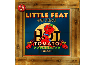 Little Feat - 40 Feat/Hot Tomato Anthology 1971-2011 - (CD)