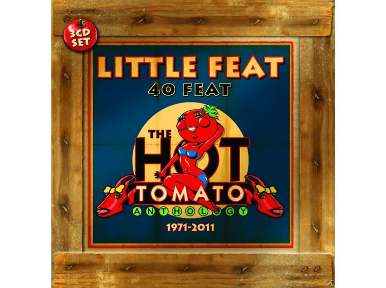 Little Feat - 40 Feat/Hot Tomato Anthology 1971-2011 [CD]