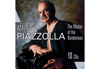 Astor Piazzolla - The Master Of The Bandoneon - (CD)