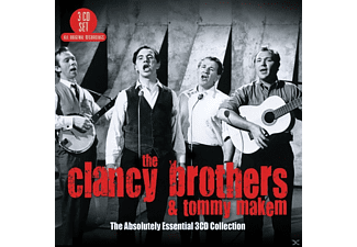 Tommy Clancy Brothers&makem - The Absolutely Essential 3CD Collection - (CD)