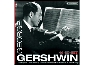 VARIOUS, George Gershwin, Baker, Rogers, Young, Astaire, Garland - George Gershwin-10 CD-Set - (CD)