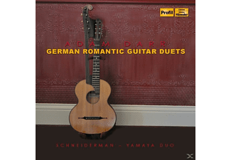 Hideki Yamaha, John Schneiderman - German Romantic Guitar Duets - (CD)