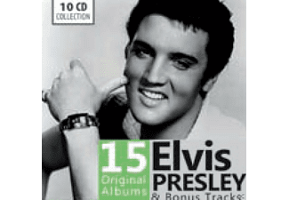 CD - Elvis Presley, 15 Original Albums